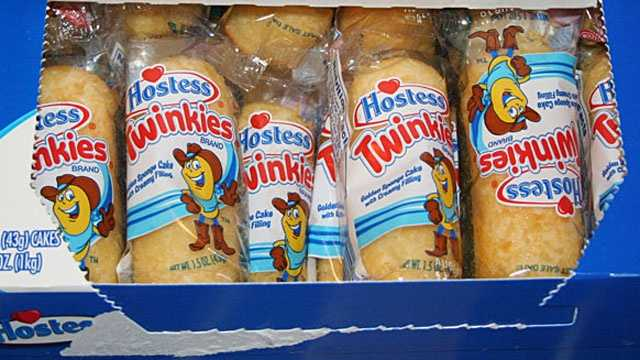box of Hostess Twinkies
