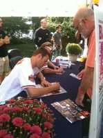 Fans who came out got a chance to also support BARCS by buying the 2013 Orioles Player and Pet Calendar.