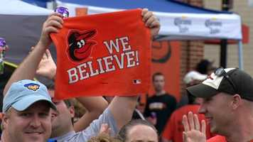 The Baltimore Orioles return to the postseason for the first time since 1997!