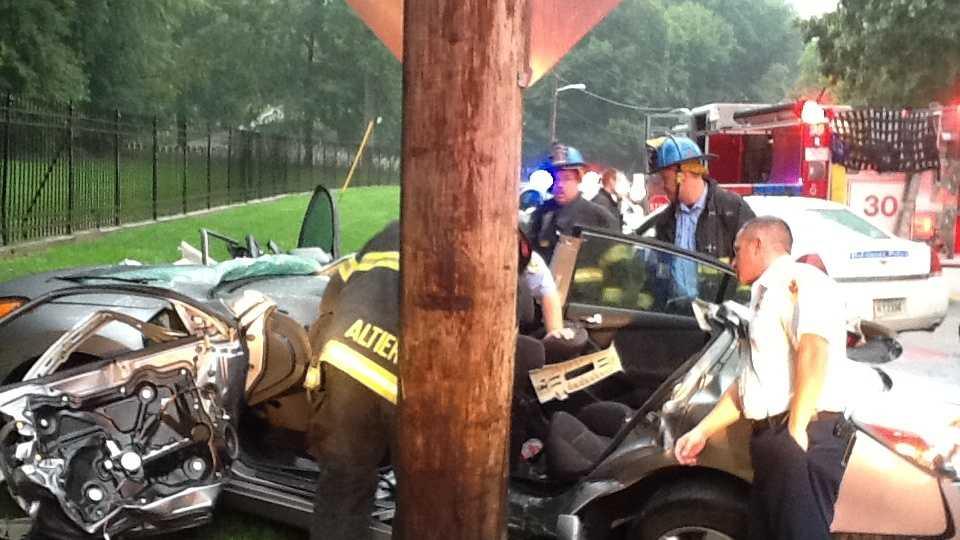 Frederick Road crash