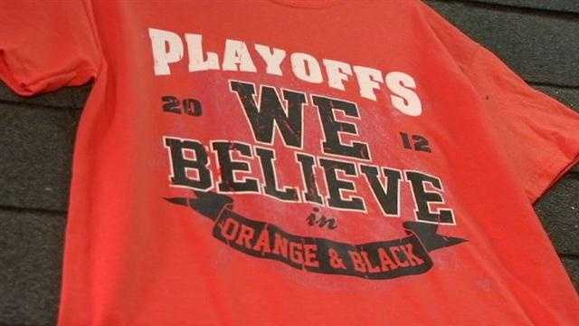 O's fans are stocking up big time on their postseason Orioles gear.