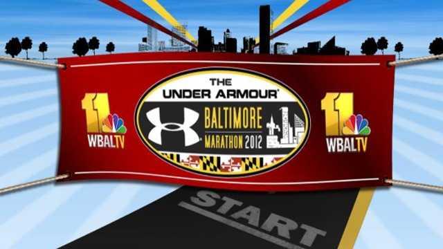 Baltimore Running Festival and WBAL logos