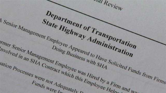 The 11 News I-Team has discovered that a former senior manager with the State Highway Administration who resigned following accusations he solicited money from firms doing business with the state has been rehired by the Department of Transportation.