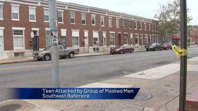 Teen Attacked By Masked Men