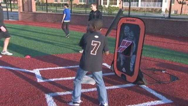The Cal Ripken Sr. Foundation and drug enforcement officers save a youth baseball program after the governor's office cut funding.