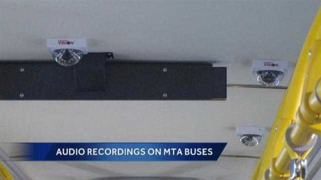 MTA bus audio recording