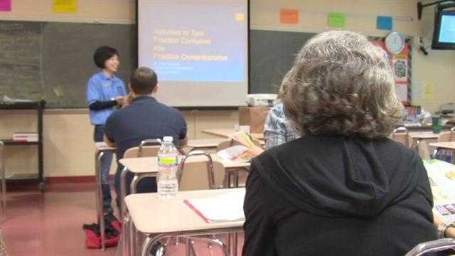 Math conference seeks more teachers