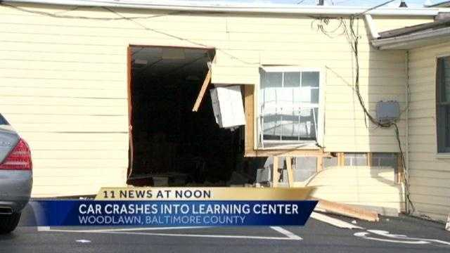 Car crashes into Woodlawn child care center