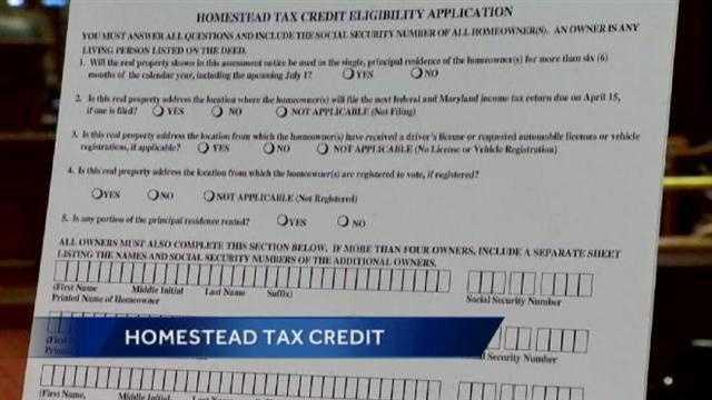 Homestead Tax Credit