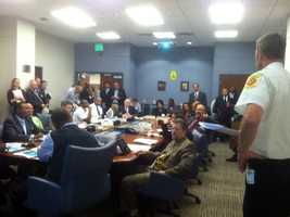 This is Baltimore City's meeting held Friday morning.