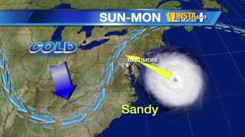 "11 Insta-Weather PLUS meteorologist Tony Pann: ""We're not going to miss the storm, but the worst of it, I think, will be along the Jersey coast."""