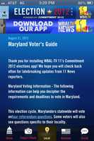 From western Maryland to the Eastern Shore, and suburban Washington to southern Maryland, find your early-voting location here. Also, try our new Election 2012 app with all the referendum questions, campaign updates, photos and videos.