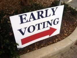 Thousands of Maryland voters packed polling places Saturday for the first day of early voting.