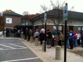 And, voters in Howard County also took advantage of the opportunity vote ahead of both the storm and Election Day.