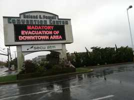 Ocean City prepares for Hurricane Sandy, and those in the lower part of town must evacuate, despite the typo.