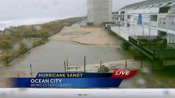 The flooding at 32nd Street in Ocean City gets worse.