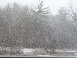 More Deep Creek snow.
