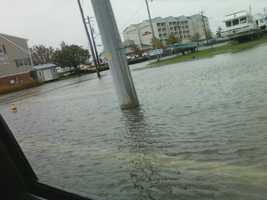 Sandy's aftermath at Kent Narrows