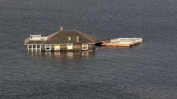 Janye Miller surveys Sandy's damage along the New Jersey shoreline, including at her family's home.