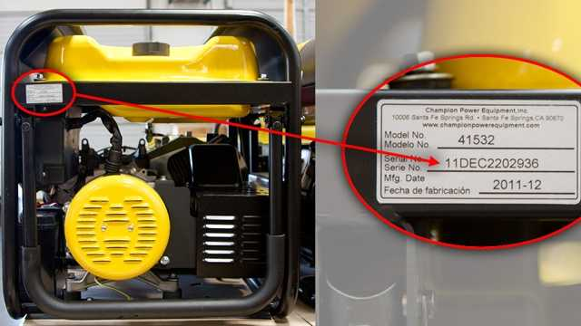 portable generator recalled
