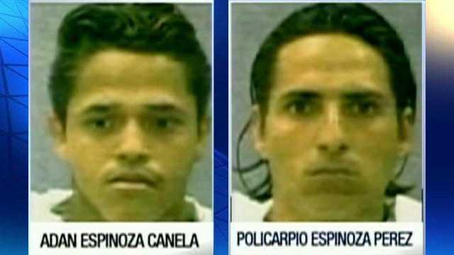 Adan Canela, Policarpio Espinoza Perez