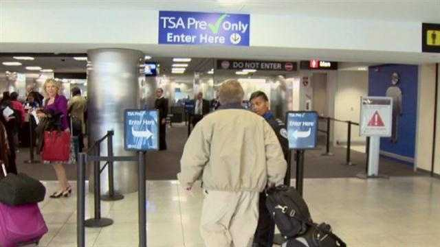 TSA offers expedited security screening at BWI