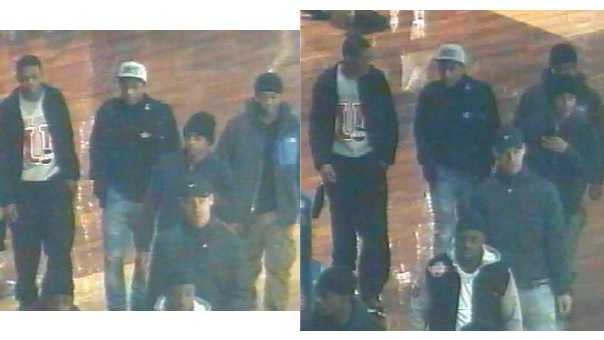 Police are looking for these men in connection with the robbery outside Bed, Bath and Beyond at Arundel Mills Mall.