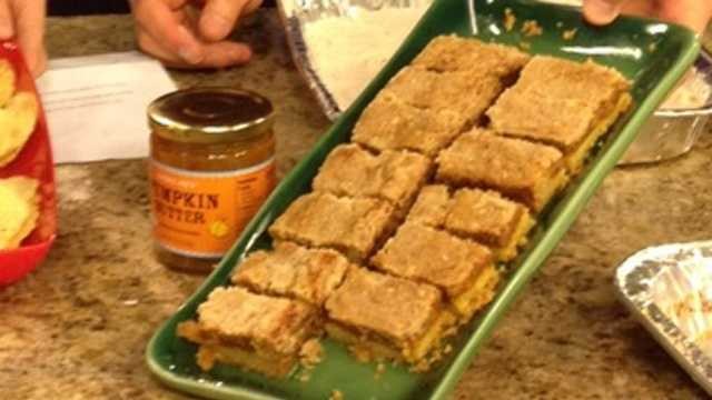 lowells pumpkin bars