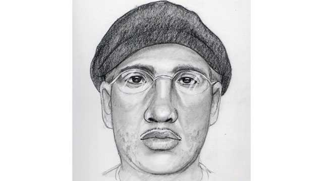 Sketch of Pikesville jewelry store robber