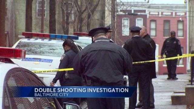 Baltimore double shooting