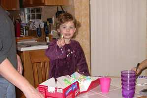 Leah Crisco turns 12 on 12-12-12. She's pictured here on her third birthday.