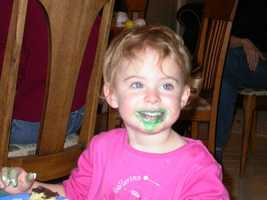 Leah Crisco turns 12 on 12-12-12. She's pictured here on her second birthday.