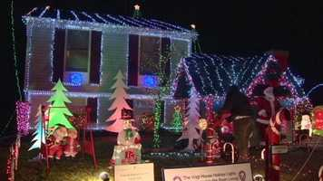 The lights of one Christmas display can show more than just holiday cheer. At one Harford County house, it's a showing of neighborly support.