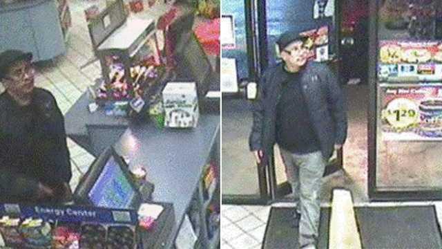 Credit card theft investigaton surveillance photo