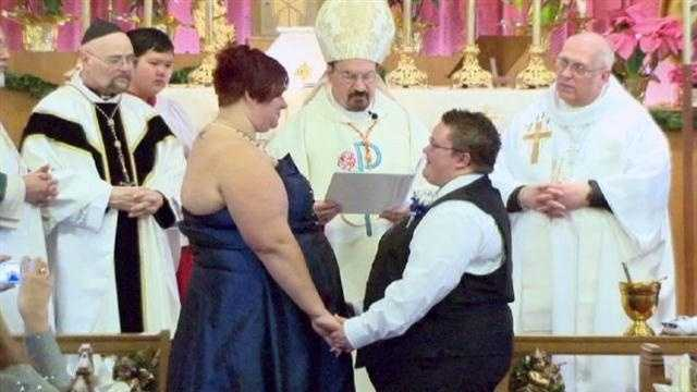 1ST SAME SEX MARRIAGES