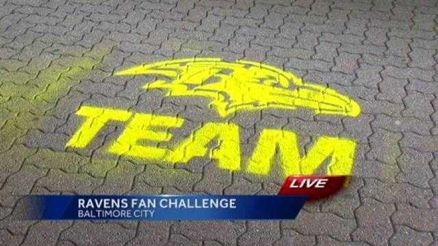 Ravens golden logo