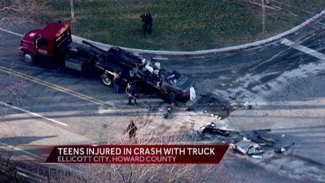 Ellicott City crash