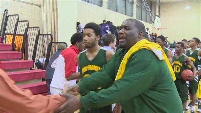 High school basketball coach's van full of gear stolen