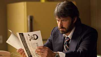 "Argo: ""Argo"" is the quickest two hours you are likely to spend at the movie theater this year. The film tells the true story of how one CIA worker rescued six Americans from Iran by disguising themselves as filmmakers. The script, direction, and cast are top notch and the films final act is without a doubt the most suspenseful piece of cinema produced this year. -- Connor Smith"