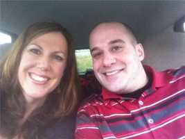WBAL-TV 11 News reporter Jennifer Franciotti and photographer Sean Smith hit the road to Foxborough on Wednesday.