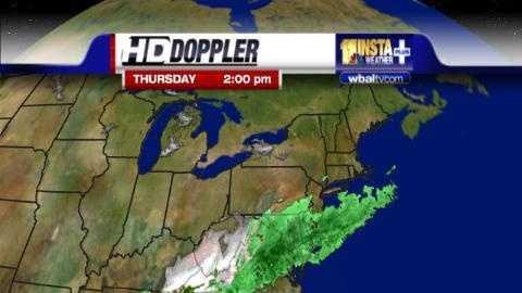 Radar at 3pm Thursday