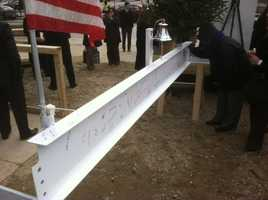 """The University of Maryland is looking forward to a cancer-free future after celebrating a """"topping out"""" ceremony Thursday afternoon."""