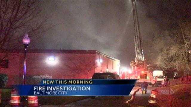Crowson Avenue fire