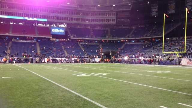Ravens on the field