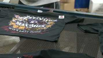 Nightmare Graphics in Columbia began rolling out its famous Festivus Maximus T-shirts only a few hours after the Ravens won the AFC Championship.