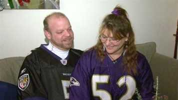 Jim Pellegrini and Daisy Sudano, together since the 2001 Ravens Super Bowl, plan to get married in New Orleans during this year's Super Bowl.  Read the story.