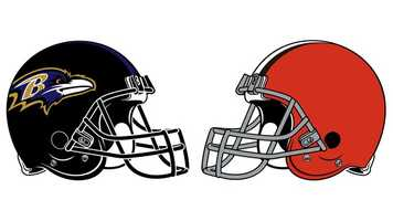 Sept. 27: Playing their fourth game in 18 days, the Ravens stopped the determined Browns, 23-16 at M&T Bank Stadium. It was Baltimore's ninth-consecutive win over Cleveland and 13th victory in a row at home. After a scoreless first quarter, the Ravens took a 9-0 lead on an 18-yard QB Joe Flacco-to-WR Torrey Smith touchdown pass (aborted PAT) and a 45-yard K Justin Tucker field goal. The Browns bounced back with a 94-yard TD drive that finished with a 1-yard RB Trent Richardson TD blast to make the score 9-7 at the half. A Flacco 1-yard TD run, along with CB Cary Williams' 63-yard INT-TD, gave the Ravens a comfortable 23-10 advantage after three quarters. Browns K Phil Dawson kicked a 51-yard FG in the third period and added 50- and 52-yard FGs in the fourth quarter to get Cleveland within 7 (23-16) with 4:33 left in the game. A last-minute effort that ended with QB Brandon Weeden's final pass sailing out of the end zone concluded the contest. After catching just 1 pass for 6 yards in the first half, WR Anquan Boldin exploded in the second half and finished with 9 receptions for 131 yards, his 33rd-career 100-yard game. RB Ray Rice added 8 catches for 47 yards, while Smith grabbed 6 for 97 yards. (Rice also rushed 18 times for 49 yards.) Flacco completed 28 of 46 for 356 yards – his second-straight game of 300-plus yards passing (382 vs. the Patriots on 9/23). Weeden threw 52 passes, completing 25 for 320 yards. Richardson ran for 47 yards on 14 carries. It was the Ravens' 10th consecutive victory in the AFC North.