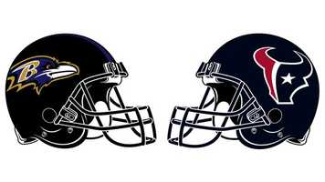 """Oct. 21: A banged up Ravens' team, playing its first game without recently-injured LB Ray Lewis and CB Lardarius Webb, lost at Houston, 43-13, in a battle that featured the AFC teams with the best records (5-1). Houston QB Matt Schaub threw 2 TD passes, and RB Arian Foster ran for 2 more, while the Texans' defense added a safety and a TD with 1 of 2 INTs against QB Joe Flacco. Baltimore started well, taking a 3-0 lead on K Justin Tucker's 51-yard FG. After forcing back-to-back """"three-and-outs"""" on the Texans' first two possessions, Houston's defense scored when Flacco was tackled for a safety by LB Connor Barwin. Houston took advantage of the next possession, completing a TD drive when Schaub hit WR Kevin Walter with a 25-yard TD strike for a 9-3 lead. CB Johnathan Joseph then stole a Flacco pass and raced 52 yards for another TD to give the Texans a 16-3, second-quarter lead. The rout was on. By halftime, Houston led 29-3 after a Schaub-to-TE Owen Daniels TD and 2 K Shayne Graham FGs (33 and 29 yards). Showing the fight they kept all game, the Ravens came back with a TD in the third quarter when Flacco hit WR Tandon Toss on a 15-yard pass. Foster then added his 2 TD runs (1 and 2 yards) around another impressive Tucker FG (54 yards) to complete the scoring. Houston dominated in almost every category, outgaining the Ravens 420 to 176 yards and owning time of possession (38:16 to 21:44). Flacco completed 21 of 43 for 147 yards, and Schaub was 23-of-37 for 256 yards and a 100.7 rating. Houston rushed for 181 yards, with Foster gaining 98 on 19 carries. RB Ray Rice ran 9 times for 42 and was limited to 12 yards receiving on 5 catches. The game featured the first appearance of the season for OLB Terrell Suggs, who was the NFL's 2011 Defensive Player of the Year and had torn his Achilles in April. Suggs notched 4 tackles, 1 sack and 1 PD against the Texans."""