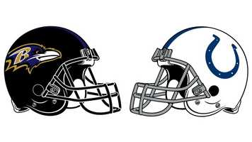 Jan. 6: The Ravens beat the Colts 24-9 in the Wild Card Game: Before a sellout M&T Bank Stadium crowd that celebrated and saluted LB Ray Lewis in his final home game, the Ravens held the Colts without a touchdown, winning 24-9. Lewis, in his 17th and final season after being a first-round pick of the Ravens in 1996, finished with 13 tackles and a pass defensed in his first game since tearing his triceps on Oct. 14. After a scoreless first quarter, Baltimore scored first on a 23-yard K Justin Tucker field goal. The Colts' Adam Vinatieri matched that with a 47-yarder before Ravens FB Vonta Leach made it 10-3 on a 2-yard touchdown power play. Vinatieri's 52-yarder with 50 seconds left in the second quarter made the score 10-6 at the half. QB Joe Flacco, who averaged 23.5 yards per completion in the game, hit TE Dennis Pitta with a 20-yard TD to extend the Ravens' lead to 17-6. Vinatieri's 26-yard FG at the end of the third quarter made it 17-9. The Ravens put the game away when Flacco hit WR Anquan Boldin with an 18-yard TD throw to create the final margin of 24-9. Boldin set a Ravens' playoff record with 145 receiving yards (5 catches). Rookie RB Bernard Pierce, whose 43-yard run set up Baltimore's final TD, rushed for 103 yards on 13 carries (7.9 avg.) RB Ray Rice added 70 yards on 15 carries, helping the Ravens to 172 rushing yards. Rice also had a 47-yard catch and run to set up the game's first TD. Colts rookie QB Andrew Luck threw 54 times, completing 28 for 288 yards with an interception, but could not lead his team to the end zone. WR Reggie Wayne caught 9 for 114, and WR T.Y. Hilton grabbed 8 for 66 more. The Colts did dominate time of possession, holding the ball 37:32 of the game.
