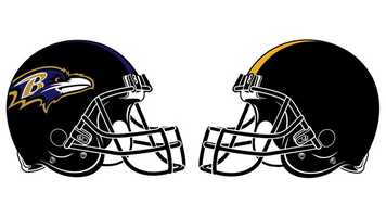 Nov. 18: In a battle typical of the games played between Baltimore and Pittsburgh, the Ravens beat the Steelers, 13-10, at Heinz Field. It was the sixth time in the last seven regular season games played between the Ravens and Steelers that the game was decided by three points. It was Baltimore's third-straight regular season victory at Heinz and 12th-consecutive win in the AFC North. (That streak ties Indianapolis for the most division wins in a row since realignment in 2002.) While the Ravens held the Steelers without a touchdown in the final 59 minutes and 17 seconds of the game, Pittsburgh's lone TD was scored in the first minute of the contest. QB Byron Leftwich, playing for the injured Ben Roethlisberger, raced 31 yards for a touchdown just 43 seconds into the game. Baltimore bounced back to take a 10-7, first-quarter lead on K Justin Tucker's 26-yard field goal and WR Jacoby Jones' spectacular 63-yard punt return. The Ravens bumped the lead to 13-7 in the third quarter on Tucker's 39-yard FG into the open end of Heinz. Later in the period, Steelers K Shaun Suisham provided the final points of the game with a 22-yard FG. Both teams struggled on third downs with Baltimore converting just 3-of-14, while Pittsburgh was 5-of-17. The Steelers out gained the Ravens 311 to 200 yards. QB Joe Flacco completed 20 of 32 passes for 164 yards, including 8 for 79 to WR Anquan Boldin. Leftwich was 18-of-39 for 201 and was intercepted once by CB Corey Graham. The Ravens did not turn the ball over, while taking it away from  the Steelers three times, scoring both of their FGs after the take-aways.